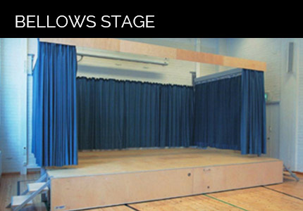 Bellows stage